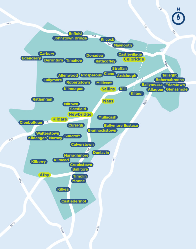 local link Kildare South Dublin Service Area