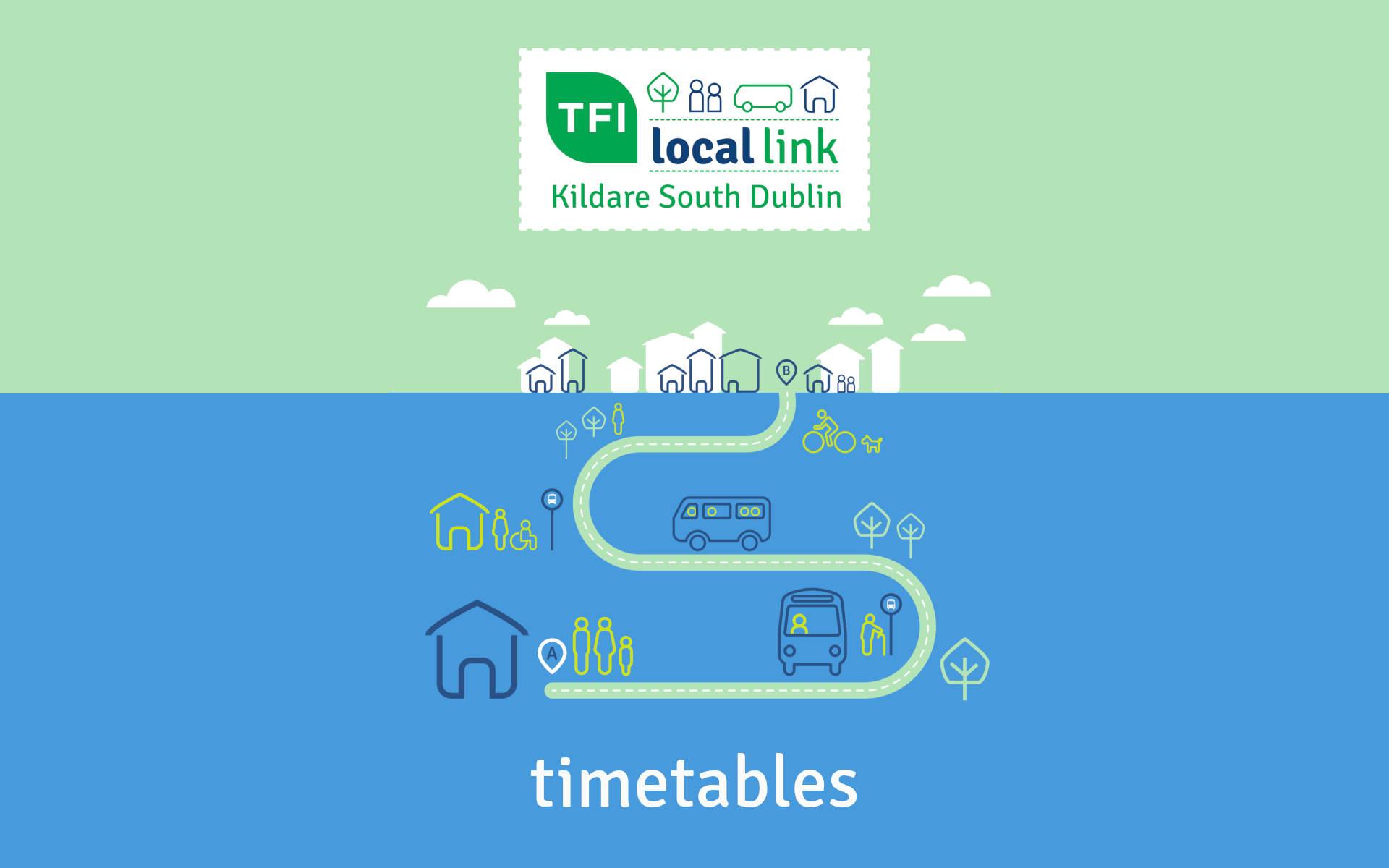 Timetable Cover LocalLink Kildare