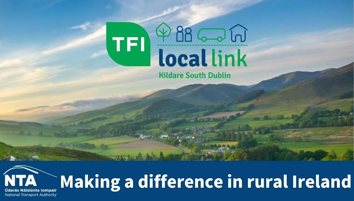 NTA rural ireland TFI LOCAL LINK KILDARE