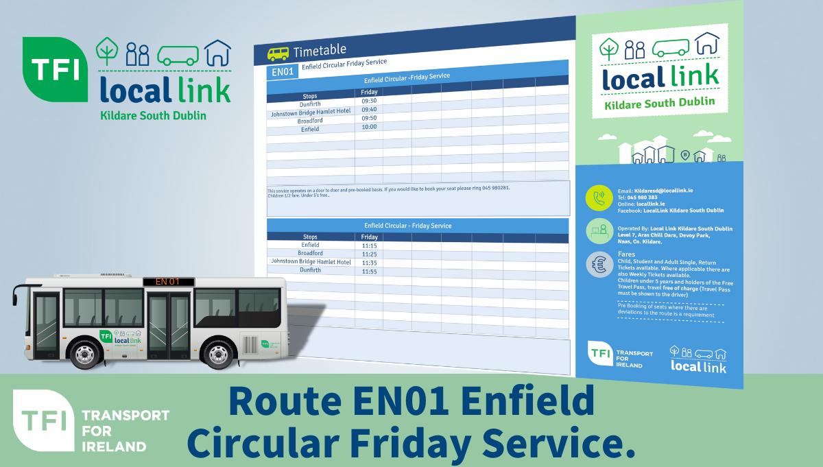 Route EN01 Enfield TFI LOCAL LINK KILDARE